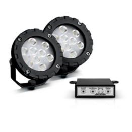 Farol Power LED 9W - Kit - Autopoli Automotive Technology