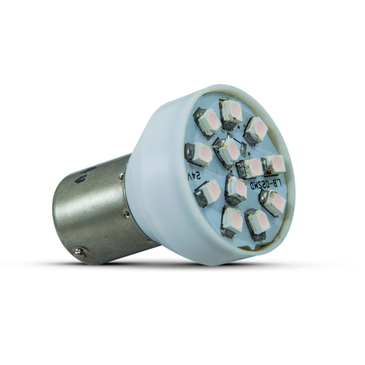 Lâmpada LED Lamp BA15S Flash (Lâmpadas LED Lamp) - Autopoli Automotive Technology